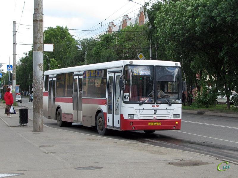 Вологда. НефАЗ-5299 ае630