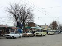 Таганрог. Остановка «Центральный рынок» на новом месте