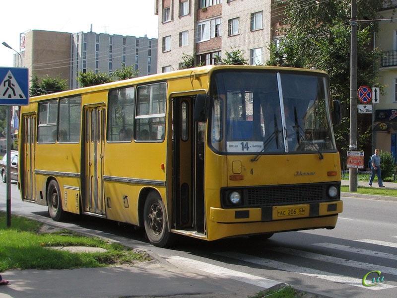 Великий Новгород. Ikarus 260 ас206