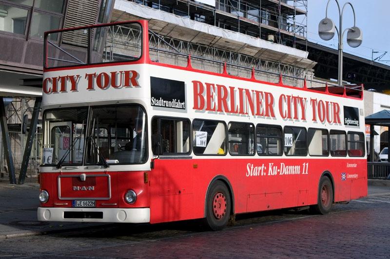 Берлин. MAN SD200 B-E 6622H