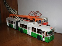 Таганрог. Модель троллейбуса ЗиУ-683В01
