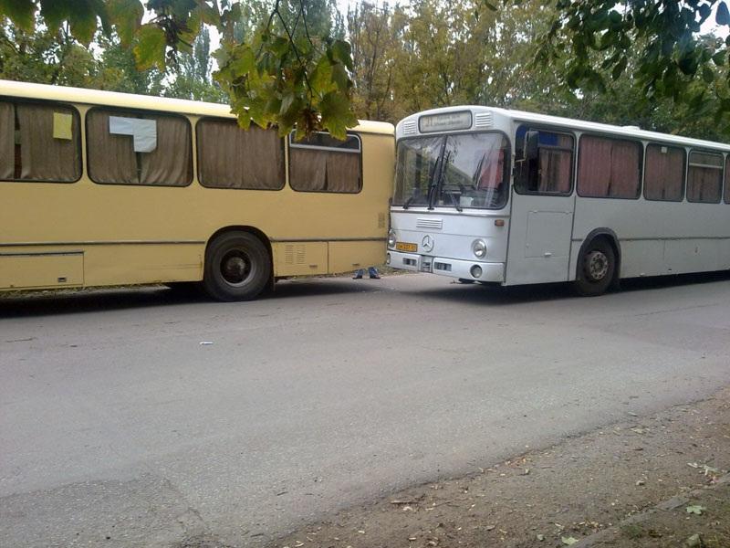 Таганрог. MAN SL200 4230РДЯ, Mercedes O307 см337