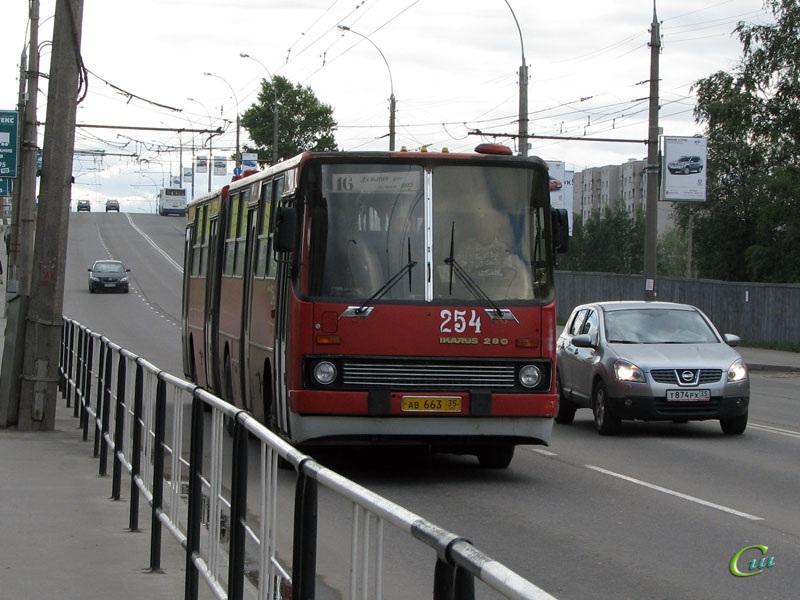 Вологда. Ikarus 280 ав663