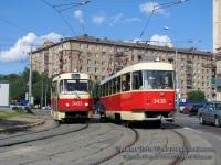 Москва. Tatra T3 (МТТЧ) №3433, Tatra T3 (МТТЧ) №3438