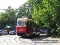 Москва. Tatra T3 (МТТЧ) №3433