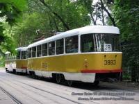 Москва. Tatra T3SU №3648, Tatra T3 №3883