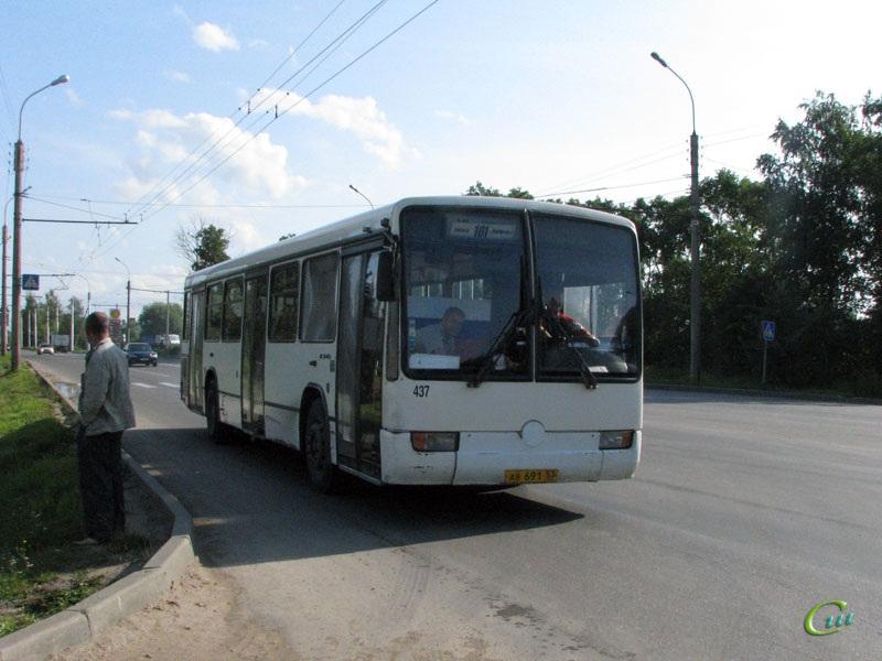 Великий Новгород. Mercedes-Benz O345 ав691