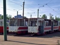 Санкт-Петербург. ЛВС-86К №5022, ЛМ-68М №5412, ЛМ-68М №5419