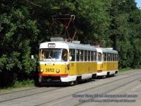 Москва. Tatra T3 №3852, Tatra T3 №3931