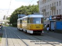 Москва. Tatra T3 №3852, Tatra T3SU №3931