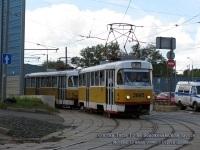 Москва. Tatra T3SU №3885, Tatra T3 №3736