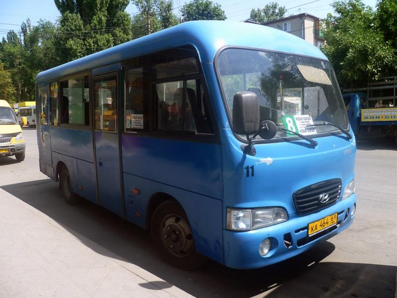 Таганрог. Hyundai County SWB ка464