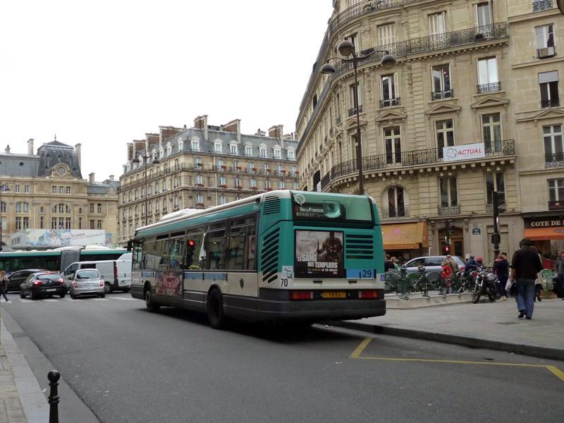 Париж. Renault Agora S №7894