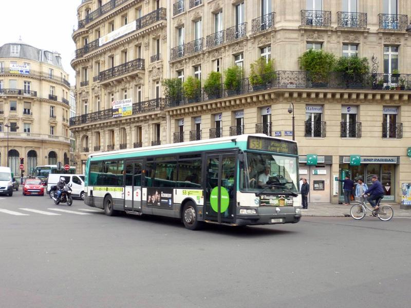 Париж. Renault Agora S №7586