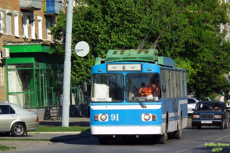 Таганрог. БТЗ-5276-01 №91