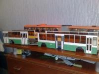 Склейка бортов и днища троллейбусов