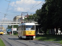 Москва. Tatra T3 №3301