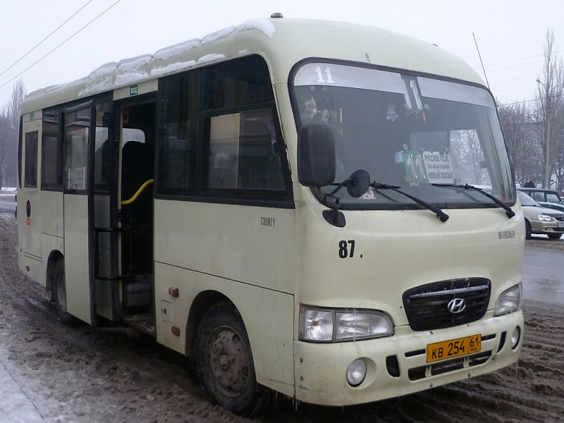 Таганрог. Hyundai County SWB кв254