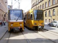 Будапешт. Tatra T5C5 №4166, Duewag TW6000 №1548