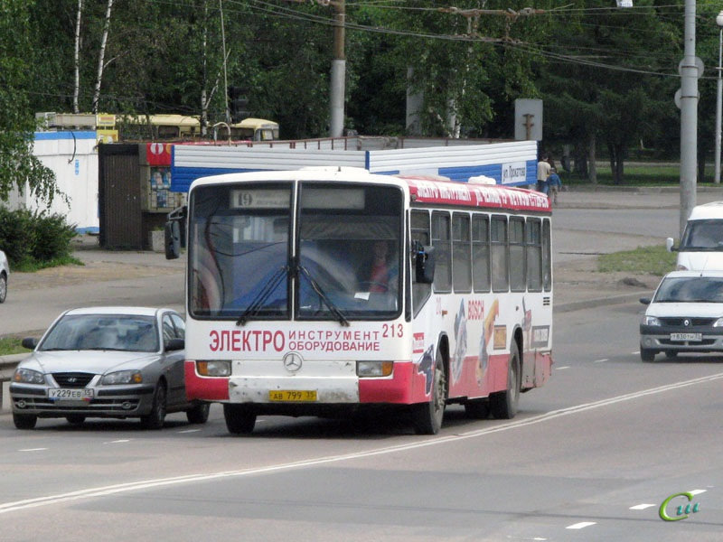 Вологда. Mercedes-Benz O345 ав799