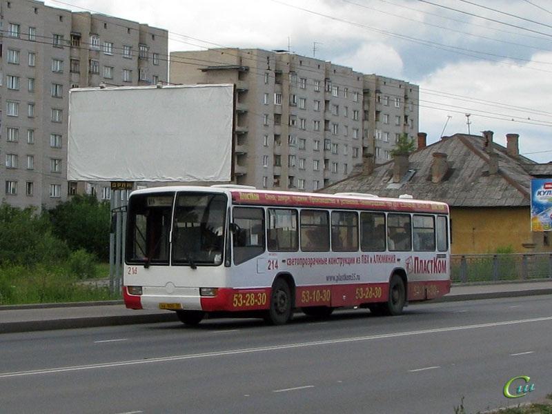 Вологда. Mercedes O345 ав800
