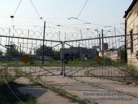 Рязань. Ворота трамвайного депо