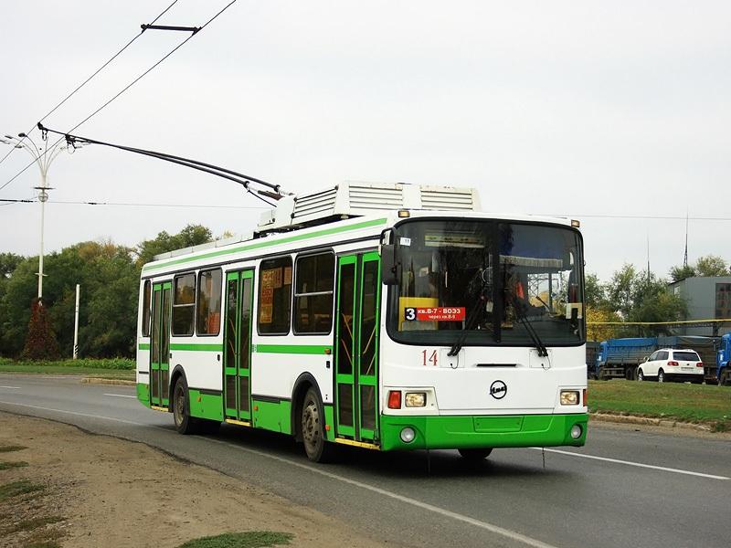 Волгодонск. ЛиАЗ-5280 №14