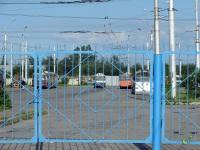 Великий Новгород. Троллейбусное депо