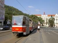 Прага. Tatra T6A5 №8742, Tatra T6A5 №8741
