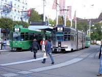 Базель. Be 4/6 S Schindler/Siemens №660, Be 4/6 S Schindler/Siemens №671