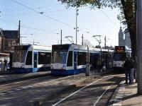 Амстердам. Siemens Combino №2006, Siemens Combino №2055, BN/Holec 11G №905