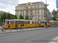 Будапешт. Ganz CSMG3 №1459, Tatra T5C5 №4039