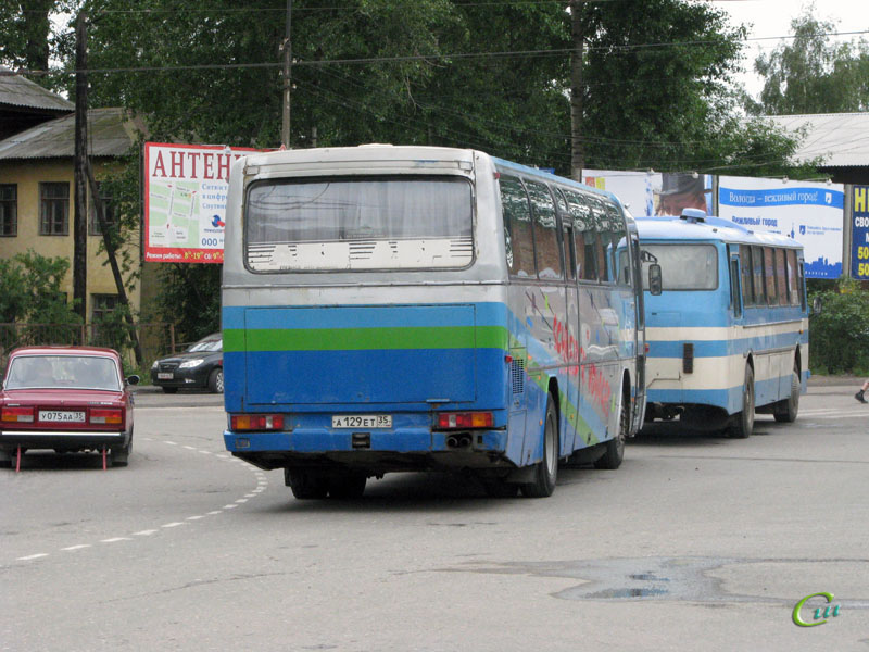 Вологда. Mercedes O303 а129ет