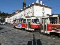 Прага. Tatra T3 №7074, Tatra T3 №7033