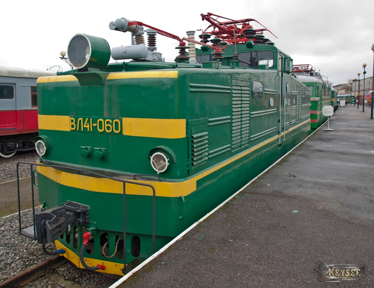 Санкт-Петербург. ВЛ41-060