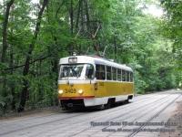 Москва. Tatra T3 (МТТЧ) №3409