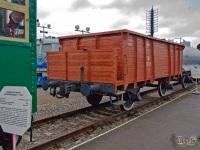 Санкт-Петербург. Полувагон двухосный типа Срез №517-171