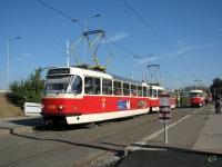 Прага. Tatra T3 №8486, Tatra T3 №8487