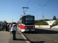 Прага. Tatra KT8D5 №9051