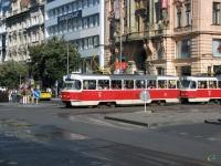 Прага. Tatra T3 №6957, Tatra T3 №6852