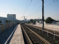Прага. Закрытая на реконструкцию линия Nadrazi Branik - Levskeho