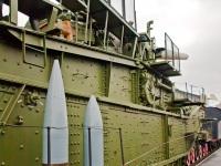 Санкт-Петербург. Железнодорожная артиллерийская установка ТМ-3-12