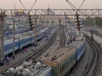 Одесса. Общий вид путей станции Одесса-Главная