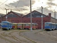 Tatra T3SU №3307, Tatra T3SU мод. Одесса №4068, Tatra T3SU №3282, Tatra T3SU мод. Одесса №4010