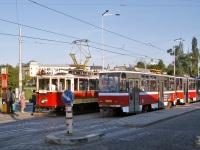 Прага. Ringhoffer DSM №349, Tatra T6A5 №8630