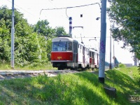 Прага. Tatra T3 №6871