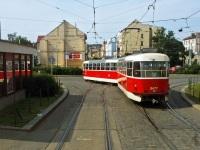 Прага. Tatra T3 №8477, Tatra T3 №8476
