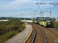 Прага. Tatra T3 №6827