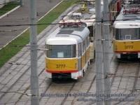 Москва. Tatra T3SU №3773, Tatra T3 №3777