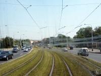 Прага. Путевое развитие перед перекрестком на улице Milady Horakove